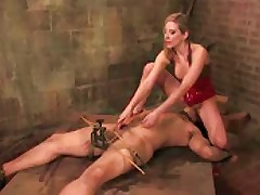 Dominant Girl Has His Cock In A