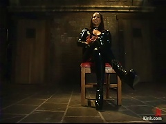 Kinky Brunette Isis Love In Latex Outfit Getting Fucked In  Sex Vid
