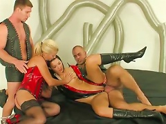 German Latex Girls And Boys And Toys And Fist...bmw