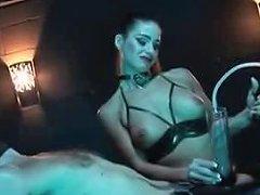 Latex Fetish Mistress Her Slave