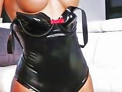 Busty Tranny In Latex Outfit Anal Banged New 1 Dec 2016 Sunporno