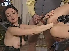 Excess In Gold Pt2 Latex Fisting And Fucking