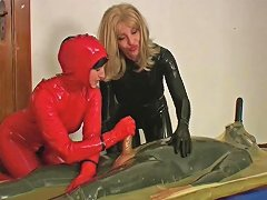 2 Horny Wives Rubber A Guy With 2 Cocks Porn 16 Xhamster