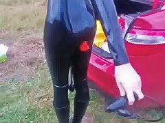 Insertion Of A Plug Outdoor Free Latex Porn B5 Xhamster